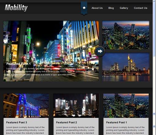 Mobility WordPress Theme