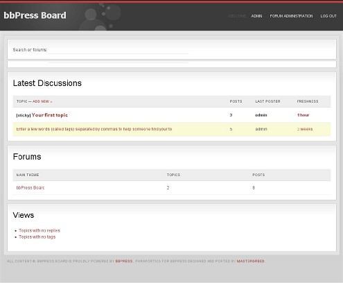 best forum for thesis theme