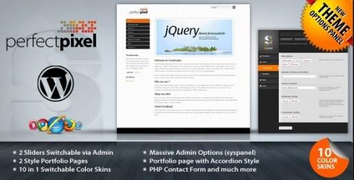 PerfectPixel Business & Portfolio WP Theme