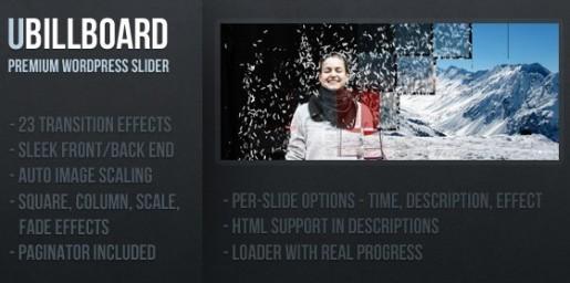 uBillboard WordPress slider Plugin
