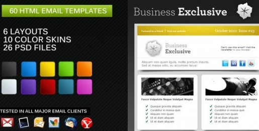 Business Exclusive Email Template