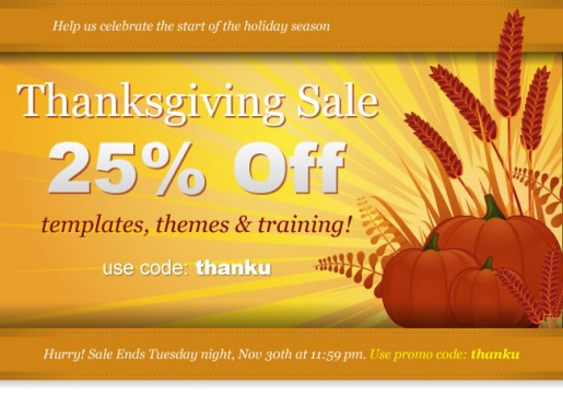 Joomlashack Coupon code of Shankgiving sale