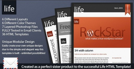 Life Email Template