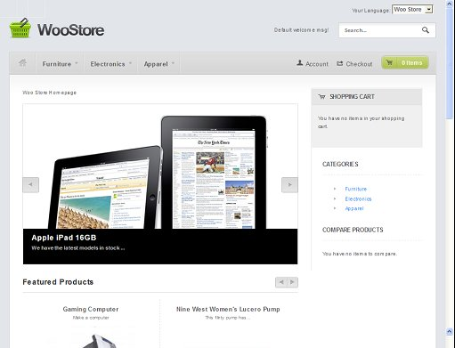WooThemes WooStore Magento Theme