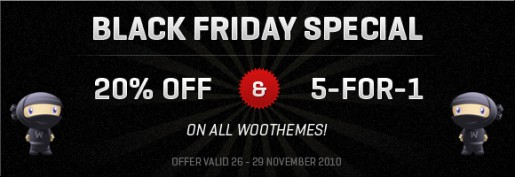 Woothemes Promotion code