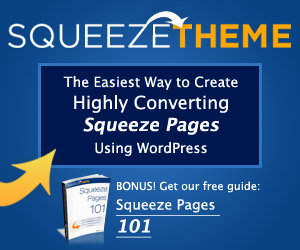 Squeeze Theme Discount Coupon Code