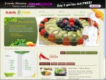JM Flavor Power Joomla Restaurant Template