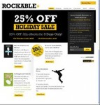 Rockable Press Discount Coupon Code: 25% OFF Rockable eBooks