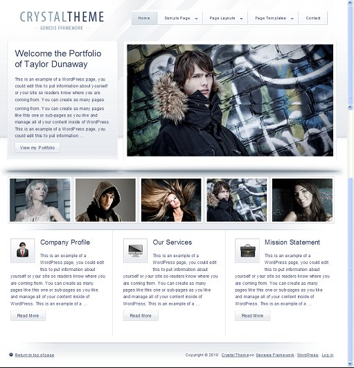 StudioPress Crystal Theme