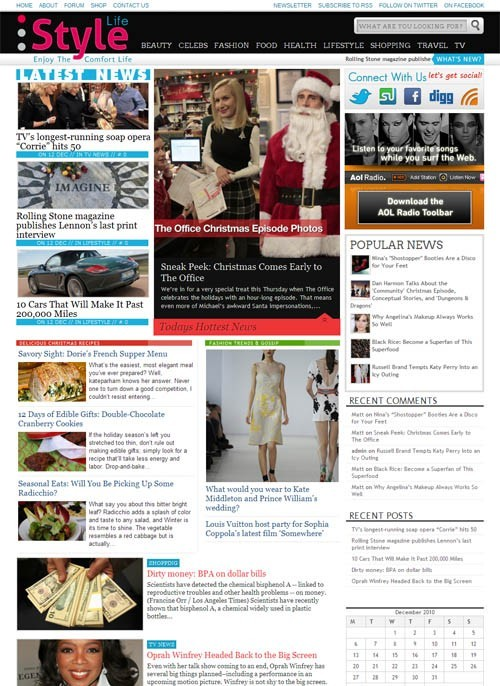 StyleLife WordPress Lifestyle Magazine Theme