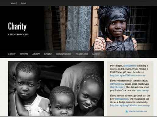 UPThemes Charity WordPress Theme