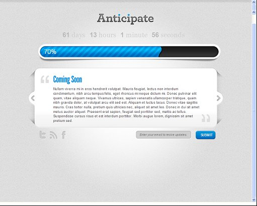 Anticipate WordPress Maintenance Mode Plugin