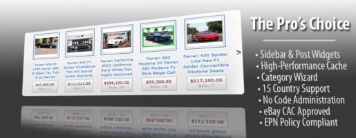 Auction Thumbs 2.0 Ebay Affiliate WordPress Plugin