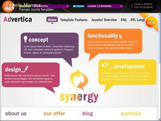 JM Advertica Joomla Business Template