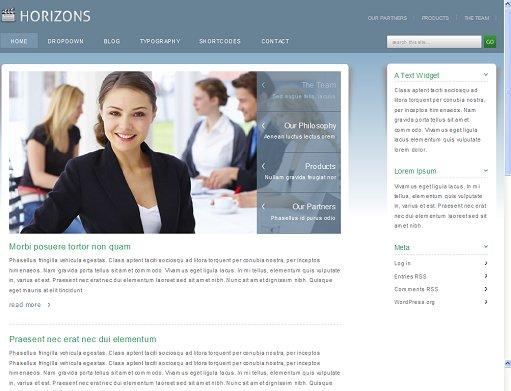 VIVAThemes Horizons WordPress Theme