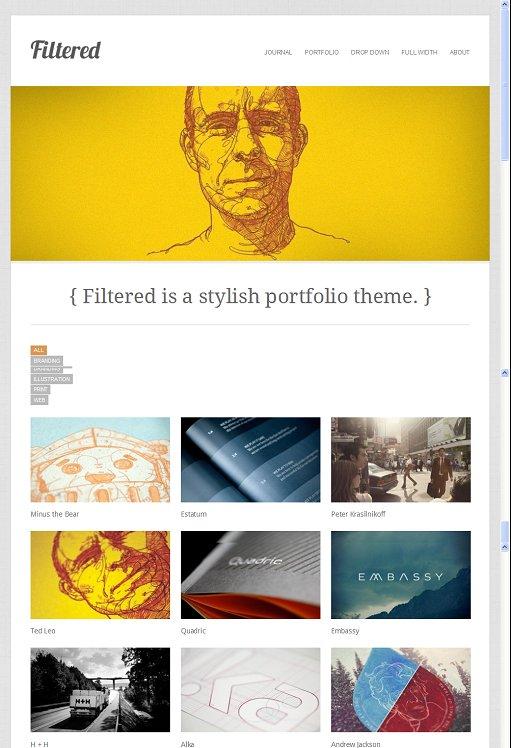 Theme Trust Filtered WordPress Theme