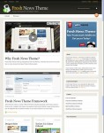 WooThemes Fresh News WordPress Magazine Theme