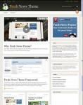 WooThemes Fresh News WordPress Magazine Theme