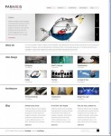 Viva Themes Parallels WordPress Portfolio Showcase Theme