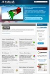 JoomlaShack JS Refresh Joomla Corporate Business Template
