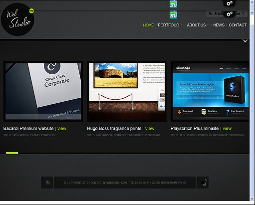 ThemeFuse WebStudio WordPress Photography Theme