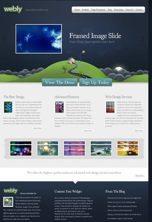 Webly WordPress Business Theme