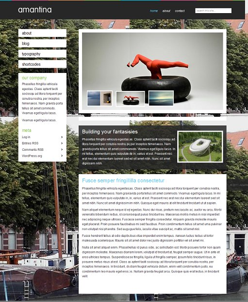 Amantina Viva WordPress Theme For Company