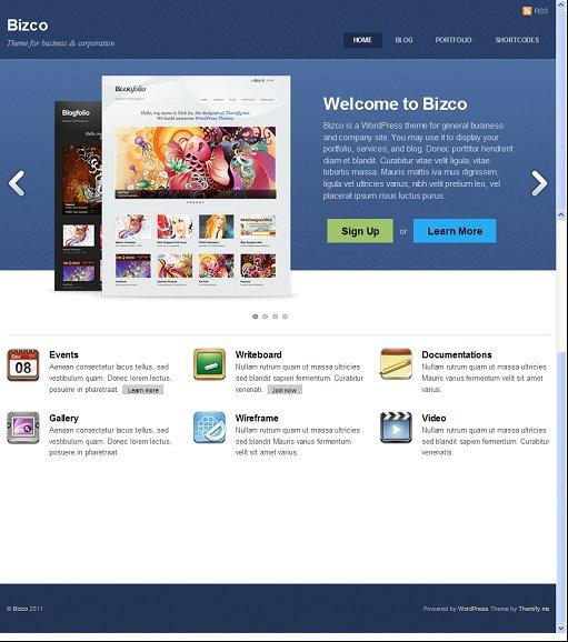 Themify Bizco WordPress Business Theme