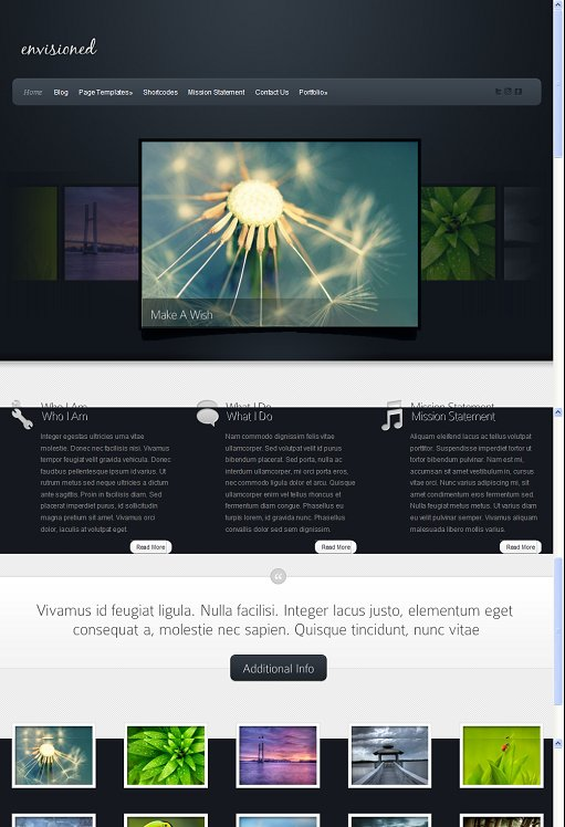 Elegant Themes Envisioned Photography WordPress Theme