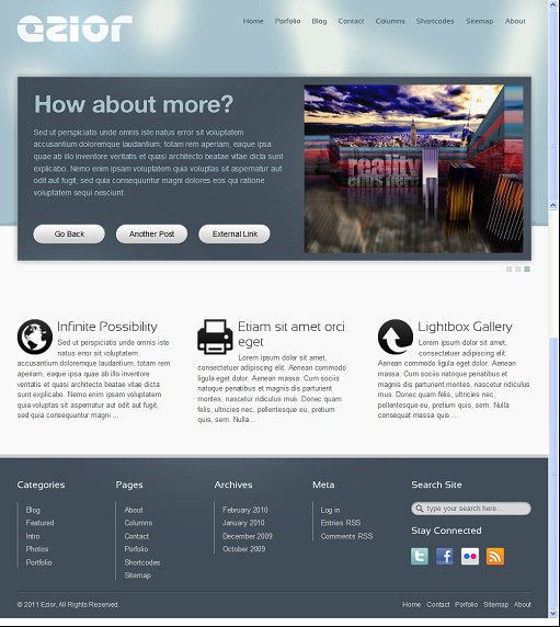 iWaK Themes Ezior WordPress Business Theme