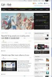 ThemeFuse Lifestyle WordPress Magazine theme