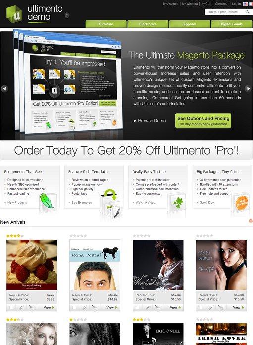 Ultimento Premium Magento Theme