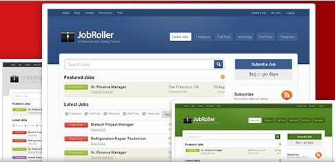 AppThemes JobRoller Job board Theme For WordPress