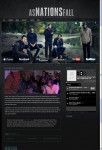 Dark & Gritty WordPress Theme Foxhound Band Themes