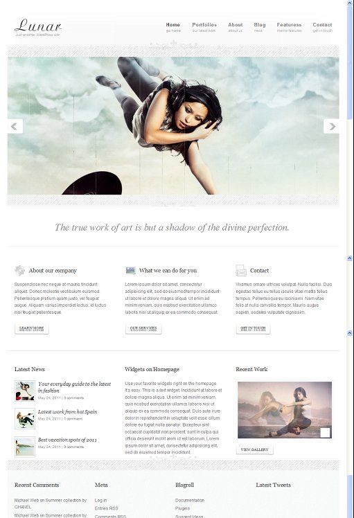 UFO Themes Lunar WordPress Theme
