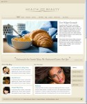 Health and Beauty Theme Tan | Organic Health WordPress Template
