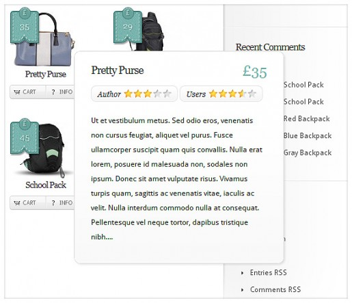 Boutique WordPress eCommerce Theme