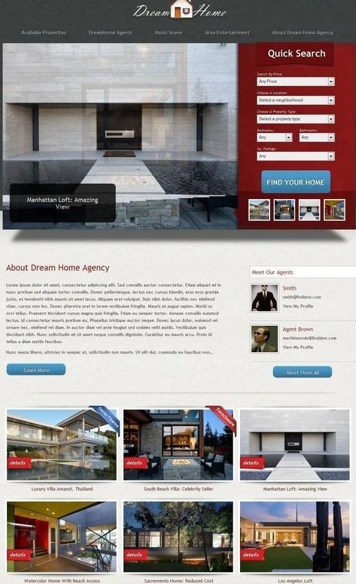 Furu Themes Dream Home WordPress Theme