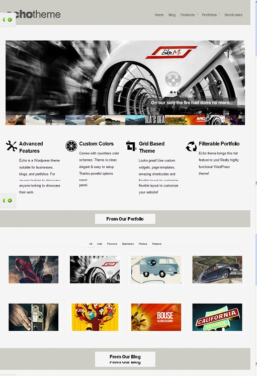 Beatheme Echo WordPress Theme