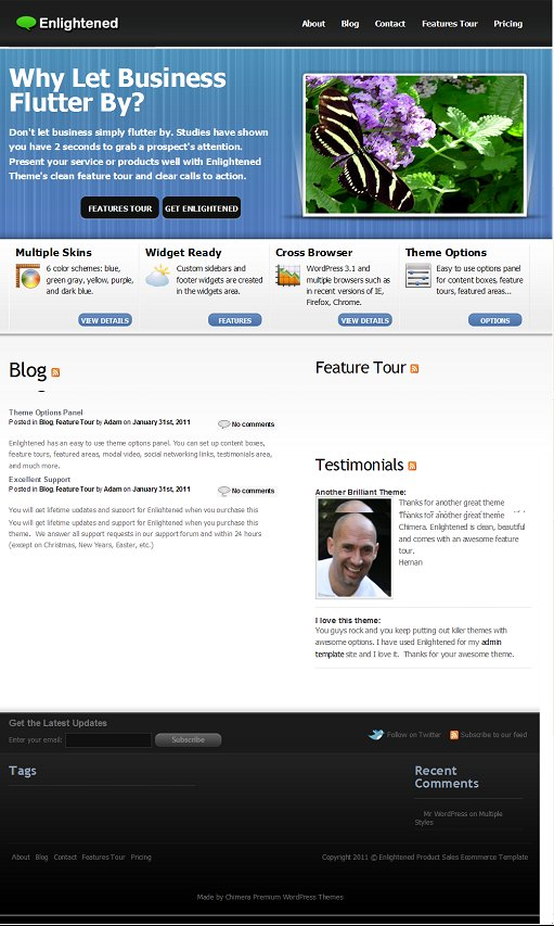 Chimera Themes Enlightened WordPress Theme