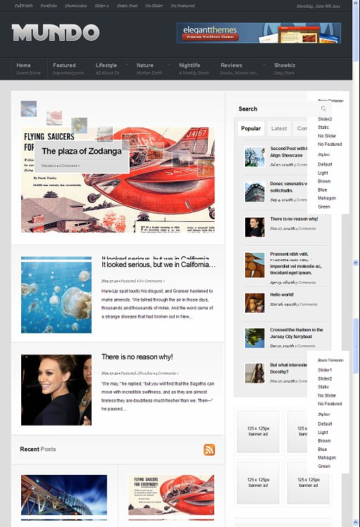 Beatheme Mundo WordPress Magazine Theme