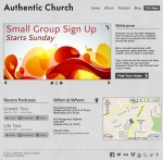 Organized Authentic Church Theme For WordPress