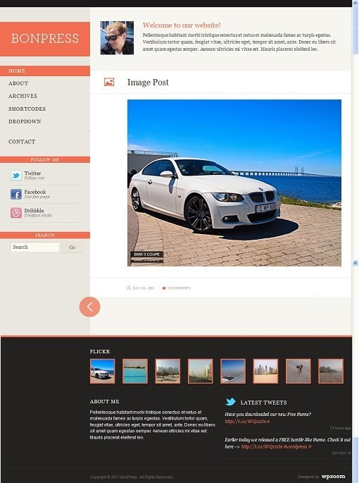 BonPress WPZOOM Tumblr-Like Theme For WordPress
