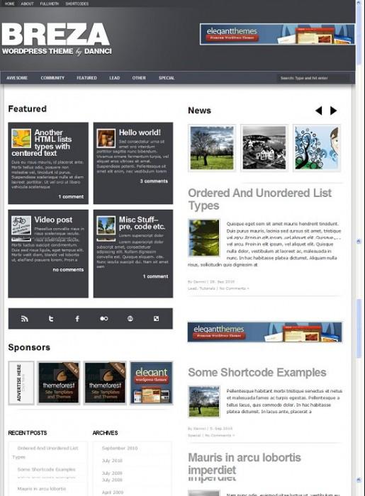 Beatheme Breza WordPress Personal Magazine Theme