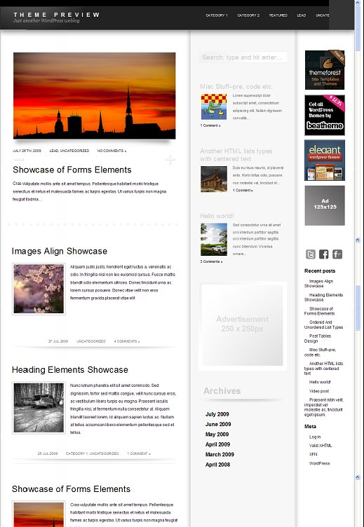 BeaTheme Habura WordPress Theme