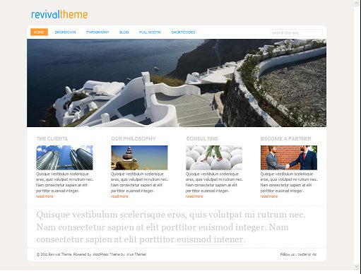 Viva Themes Revival WordPress Business Theme