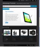 Tokokoo kelontong Premium WordPress Theme For Application Store