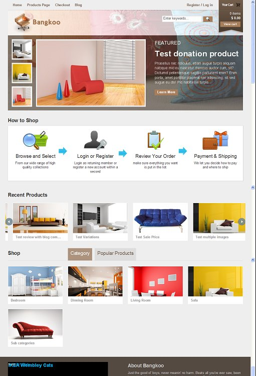 Tokokoo Bangkoo WordPress Theme