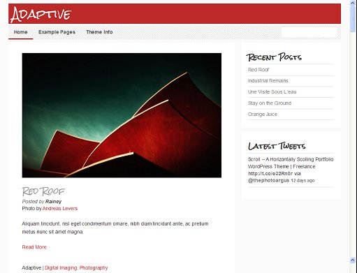 Theme Spectrum Adaptive Mobile Friendly WordPress Theme