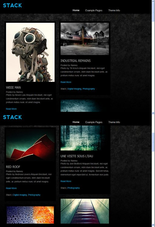 Theme Spectrum Stack Personal Blogging WordPress Theme